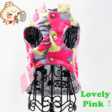 2016 Autumn Winter Pet dog Clothes for Small Medium  Vest Two side can be Wear dog Product pet clothing Coat Hoodies Jacket
