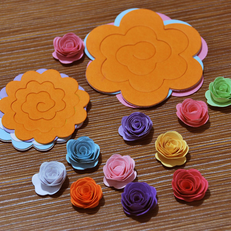 Quilling paper paper flowers origami 3d rainbow flower handmade quilling paper paper flowers origami 3d rainbow flower handmade material diy accessories in craft paper from home garden on aliexpress alibaba group mightylinksfo