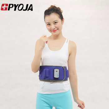 GPYOJA Excellent Quality New Arrive Slimming Massage Belt Sauna Weight Loss Massage Belt With 5 motor free shipping 3pcs top quality pure garcinia cambogia extracts weight loss 75