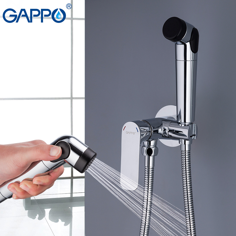 GAPPO Bidets muslim shower toilet water washer tap mixer bidet toilet sprayer wall mount bidet shower set