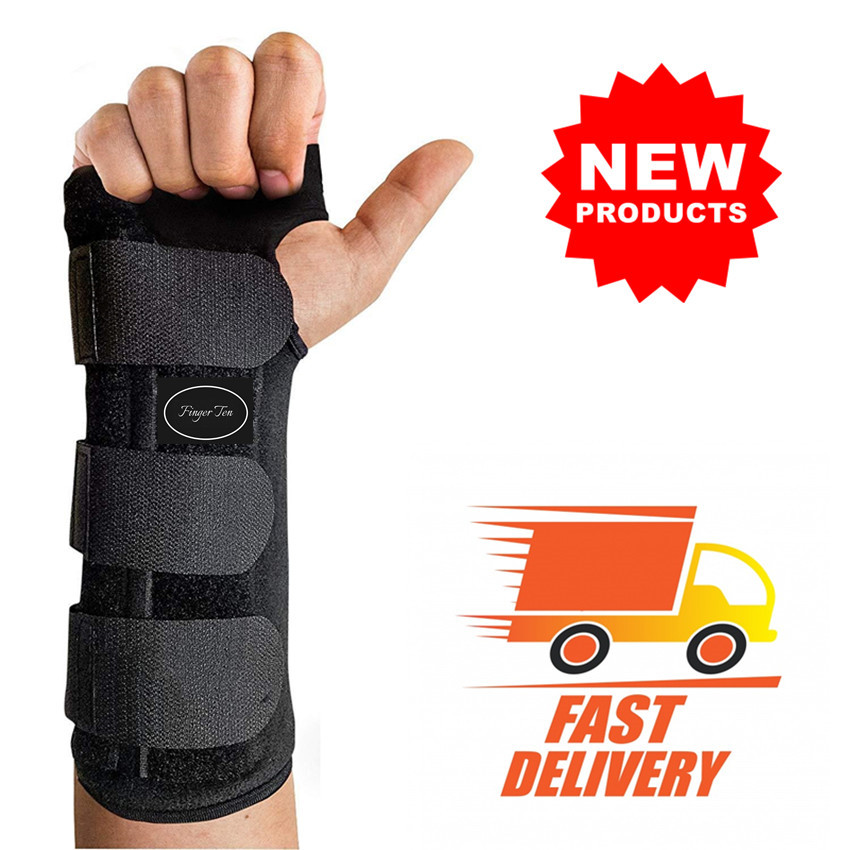 Wrist Support Brace Worn On Left Hand Or Right Hand 1 Pc Breathable Durable Finger Splint Carpal Tunnel Protector Finger Ten