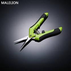 Садовые ножницы для обрезки из нержавеющей стали сбор фруктов ножницы бытовые горшках отделка травяные ветви маленькие ножницы садовые