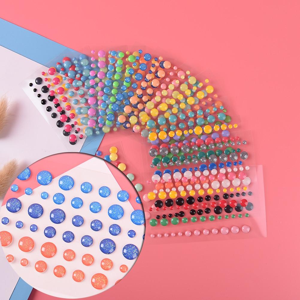 1 Sheet 9.5*6.7cm Self- adhesive Enamel Dots Resin Sticker for Scrapbooking/ DIY Crafts/ Card Making Decoration1 Sheet 9.5*6.7cm Self- adhesive Enamel Dots Resin Sticker for Scrapbooking/ DIY Crafts/ Card Making Decoration