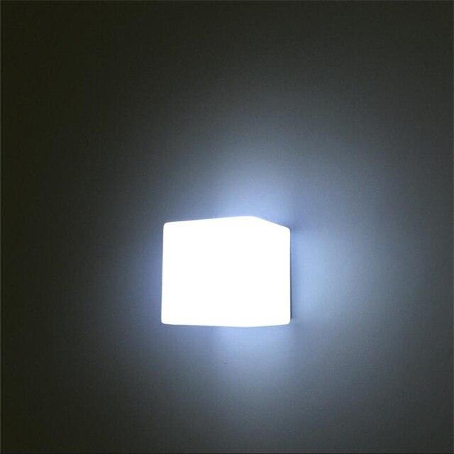 Blanc Verre Nordique Moderne Mur Lampes Salle De Bains Led Miroir