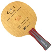Palio official stealth 1 stealth 01 table tennis blade fast attack with loop good control racquet sports