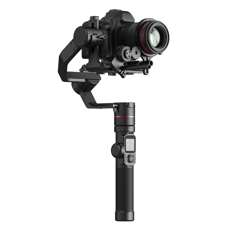 FeiyuTech Feiyu AK4000 3-Axis Handheld Gimbal Camera Stabilizer for Sony Canon 5D 6D Mark Panasonic GH5 Nikon D850 4kg Payload feiyutech feiyu ak2000 3 axis handheld camera stabilizer 2 8kg loading gimbal for sony canon 5d 6d mark panasonic gh5 nikon d850
