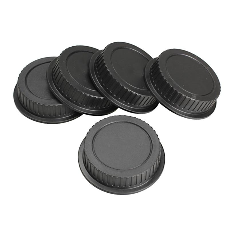 5Pcs Black Rear Lens Cap Dust Cover For Canon EF ES-S  Series Lens