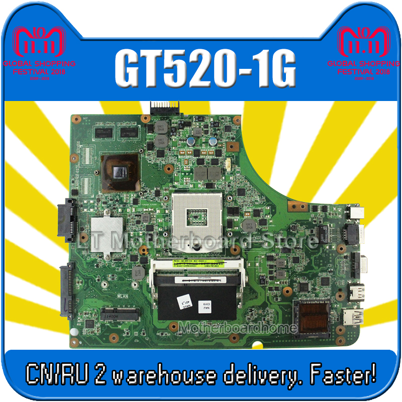 K53SV Motherboard REV 3.0 1GB GT520M For ASUS K53SV k53S X53SV A53S K53Sj Laptop motherboard K53SV Mainboard K53SV Motherboard