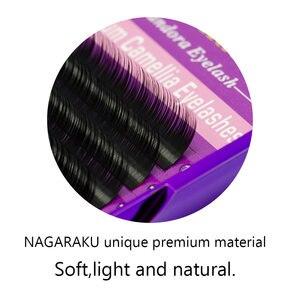 Image 5 - NAGARAKU ปริมาณขนตาขนตา Camellia ขนตา Pandora ขนตาปลอมแต่งหน้าขนตาปลอม 3D Cilios Maquiagem Lashes