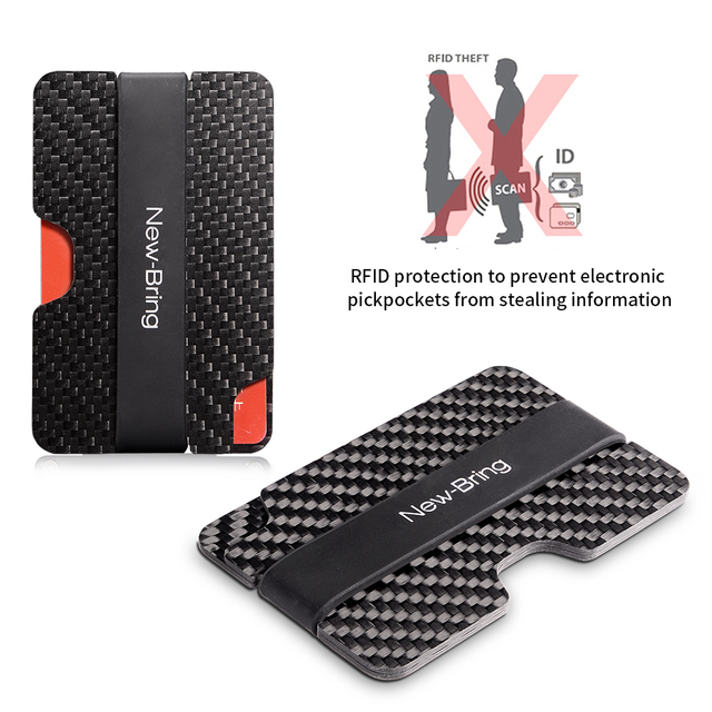 Slim Waterproof Carbon Fiber Credit Card