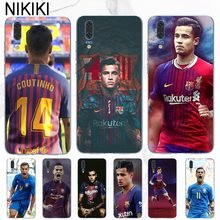 ciciber Barcelona Soccer Football Coutinho Case Cover For Huawei P20 Pro P10 Lite Plus P8 P9 2017 Honor 9lite 9 10 Soft TPU(China)