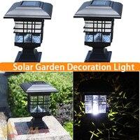 LED Zasilany Energią Słoneczną Światła Korytarz Schody Konwersji Wodoodporna białe Światło Lampy Ogrodowe Na Zewnątrz Zręczne Projektowania Wystroju Domu Światła Słonecznego