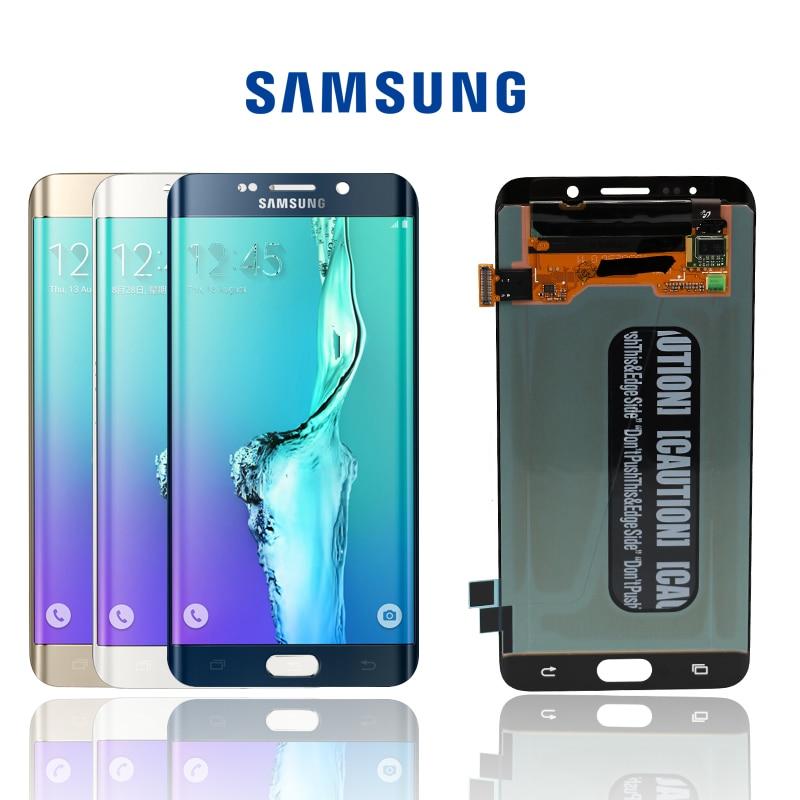 100% Origina No Dead Pixels5.7 ''pantalla para Samsung Galaxy S6 Edge Plus G928 G928F LCD pantalla táctil digitalizador montaje replacem-in Teléfono Móvil LCD pantallas from Teléfonos celulares y telecomunicaciones on AliExpress - 11.11_Double 11_Singles' Day 1