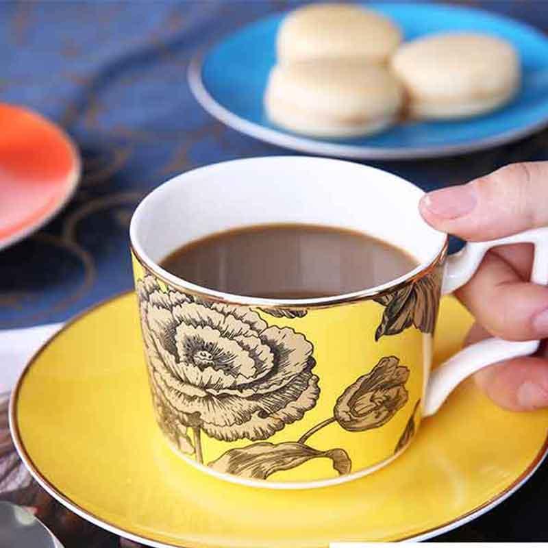 European Style Latte Coffee Ccups Bone