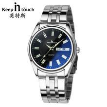 KEEP IN TOUCH Sports men's watch steel with luminous waterpr