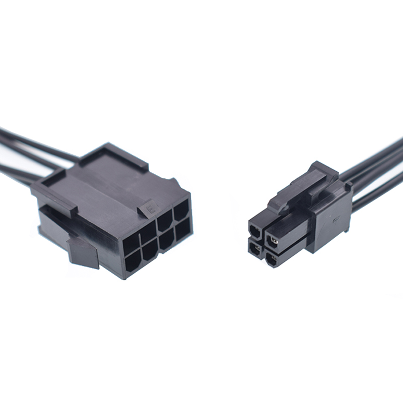 CPU 8Pin Female To 4Pin Male ATX Power Supply Cable Computer P4 To P8 Extension Conversion EPS Cable