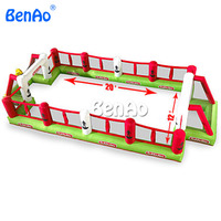 S005 BENAOInflatable Football Field/Inflatable Football Pitch/Inflatable Soccer Field/inflatable football game soccer inflatable