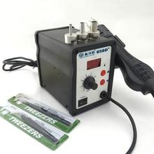 858D + senior de la pantalla digital de aire Caliente Para Desoldar estación de aire Caliente pistola de aire caliente De Soldadura blower pistola