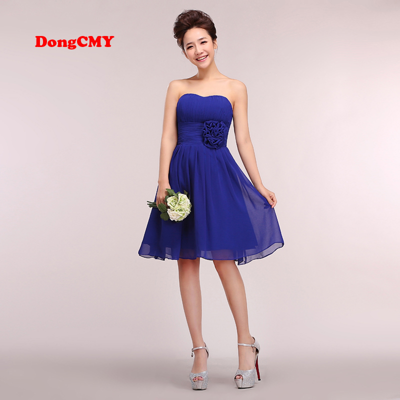 DongCMY 2017 new short bandage plus size Party   prom     dress