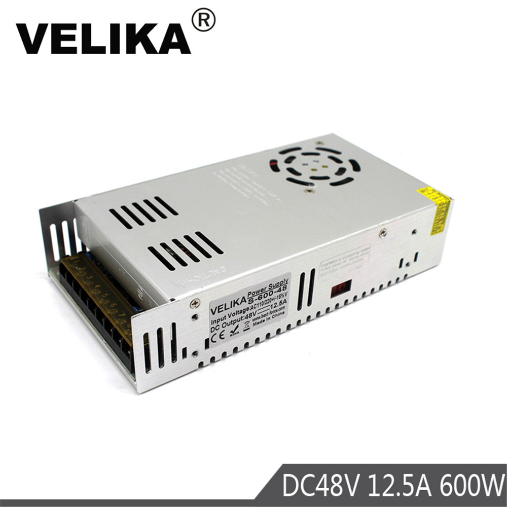 Lighting Transformers Switching Power Supply Dc12v 15v 24v 28v 32v 36v 48v 60v Lighting Transformer Ac Dc12v 600w Smps For Led Lamp Cctv Printer