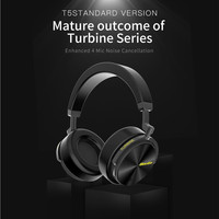 Headphones Bluedio T5 Active Noise Cancelling Wireless Portable Headset With Microphone Phone Sep14