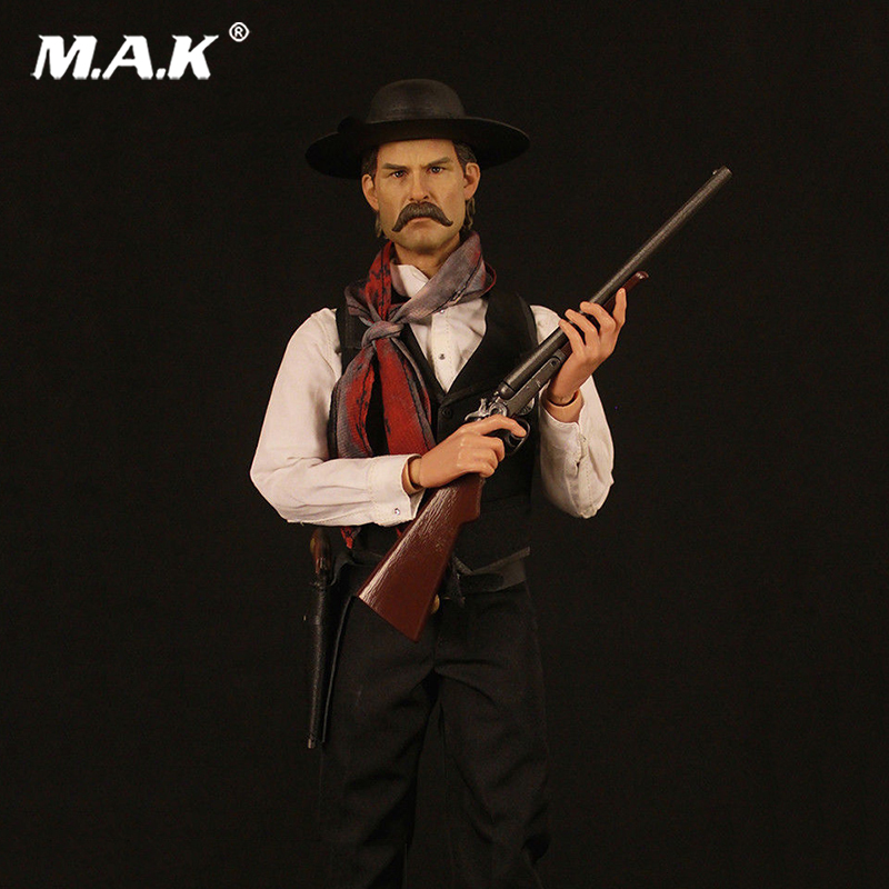 1/6 Scale Tombstone The Cowboy Deputy Town Marshal Action Figure for Collections crazy for the cowboy