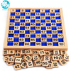 Baby Toys Montessori Education Wooden Toys 1 100 Digit Cognitive Math Toy Teaching Logarithm Version Kid