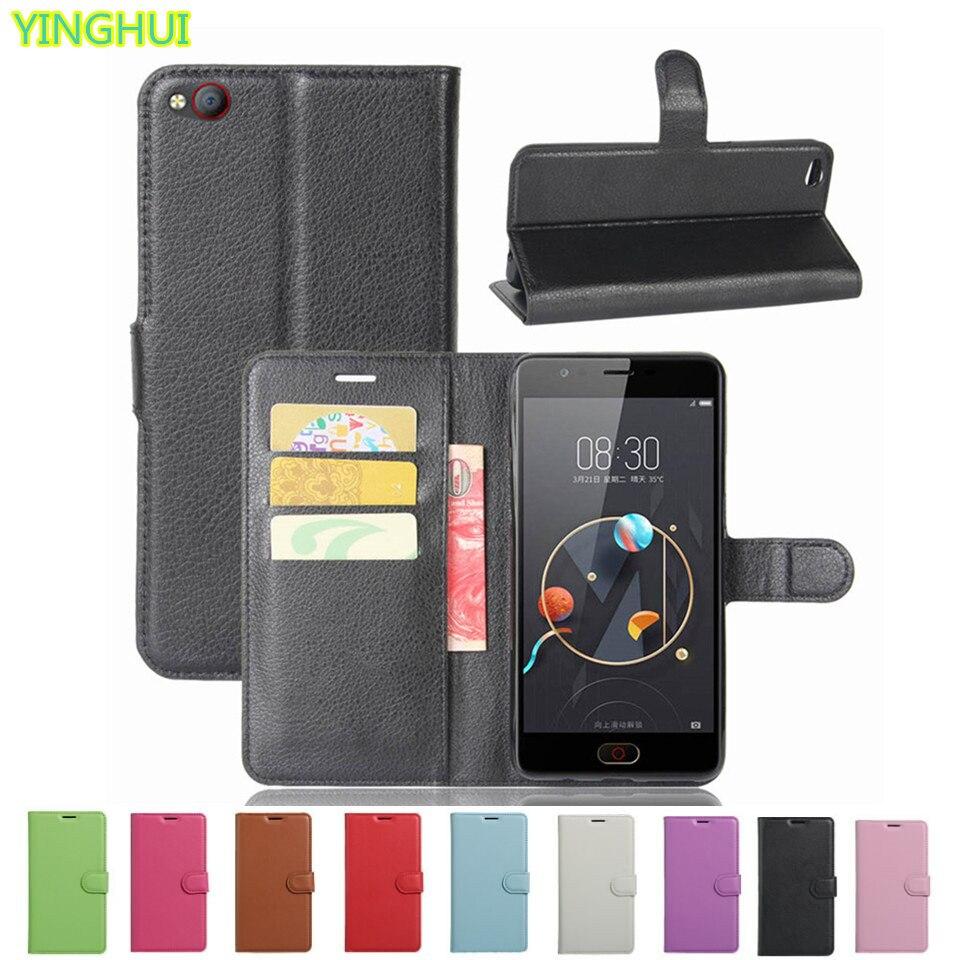 ZTE Nubia N2 Hülle Flip Wallet PU Ledertaschen für ZTE Nubia N2 N 2 - Handy-Zubehör und Ersatzteile