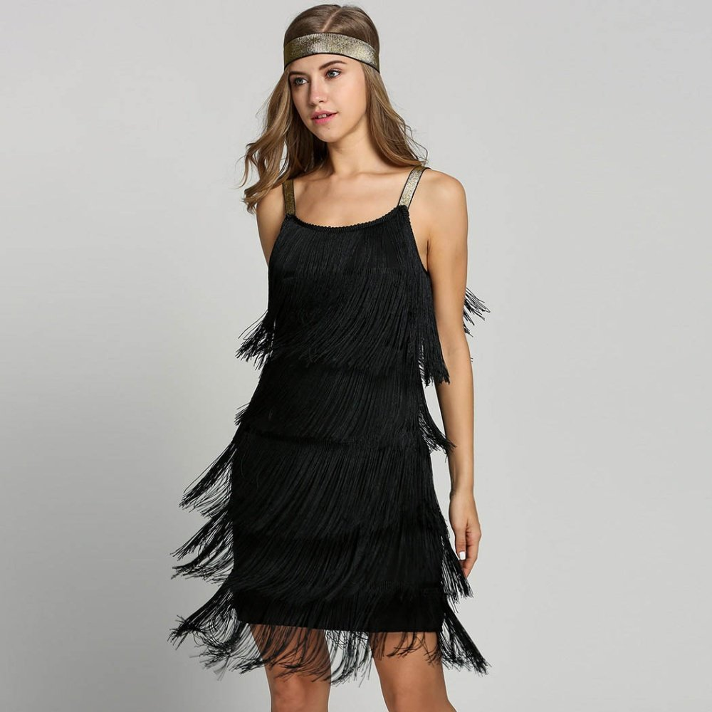 flapper fringe dress (4)