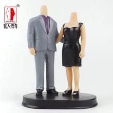Wedding gift custom wedding Cake Topper Personalized Custom real doll custom clay dolls fixed resin body SR200
