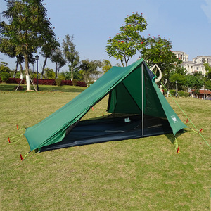 Image 2 - A Peak Ultra light Rodless Tent 1 2 Person for Camping Hiking Trekking Backpacking Waterproof 20D Tent Solo Single Bivvy Tent