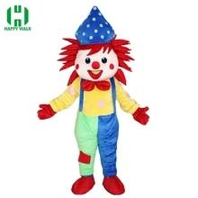 07d08cf74efccb Hoge Kwaliteit Carnaval Party Clown Mascotte Kostuum Clown Volwassen Nieuwe  Clown Mascotte Kostuum Fancy Dress Kleding