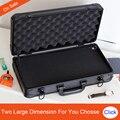 Aluminium werkzeugkoffer koffer toolbox Datei box schlagfest sicherheit fall ausrüstung kamera fall mit vorgeschnittenen schaumstoff futter