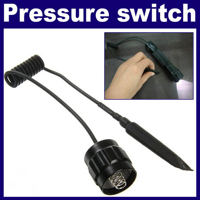 Free Shipping 2pcs/Lot_Flashlight Tailcap Pressure Switch Tail Switch For Ultrafire 501A/501B/501C/501D/501N Flashlight