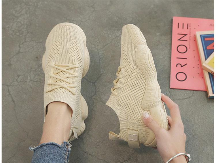 Women Vulcanized Mesh Sneakers 11