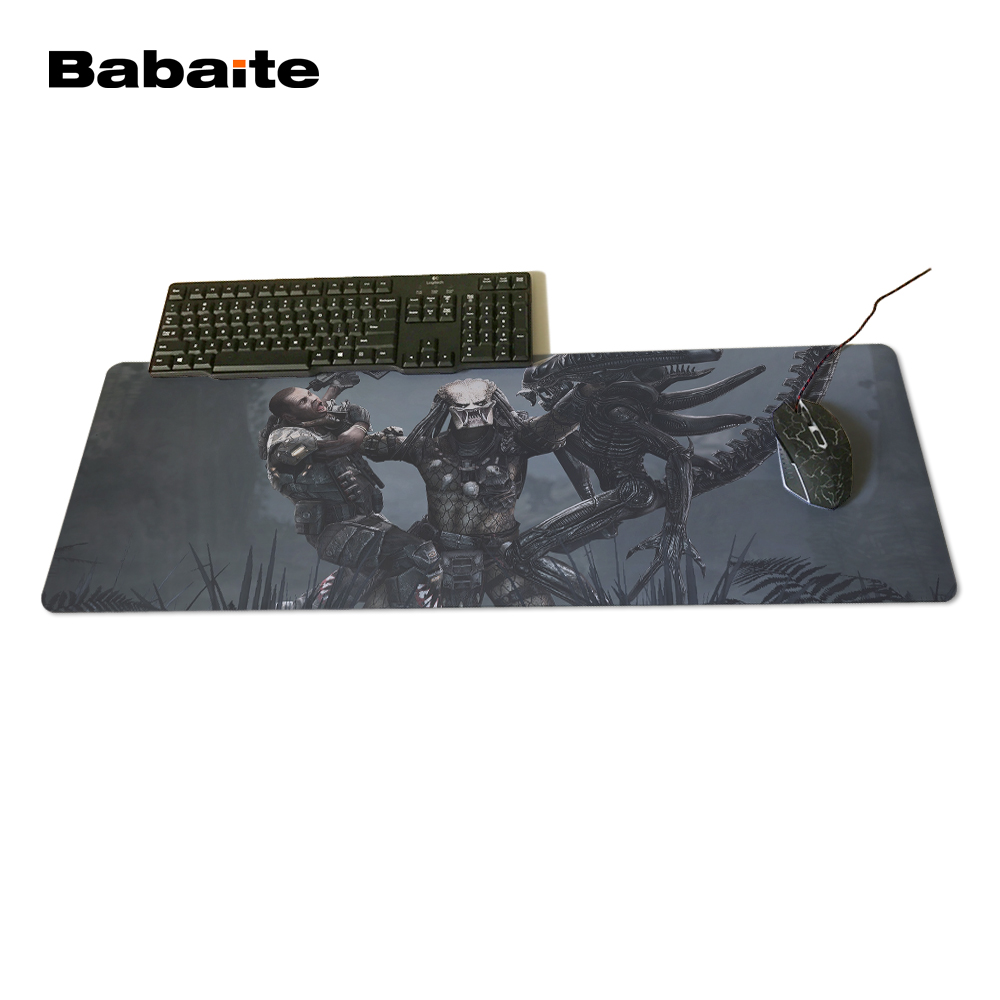 Babaite Attack the Monster Mousepad 900x400x2mm pad to Mouse Notbook Computer Mousepad Big Gaming Padmouse Gamer to Laptop Mouse