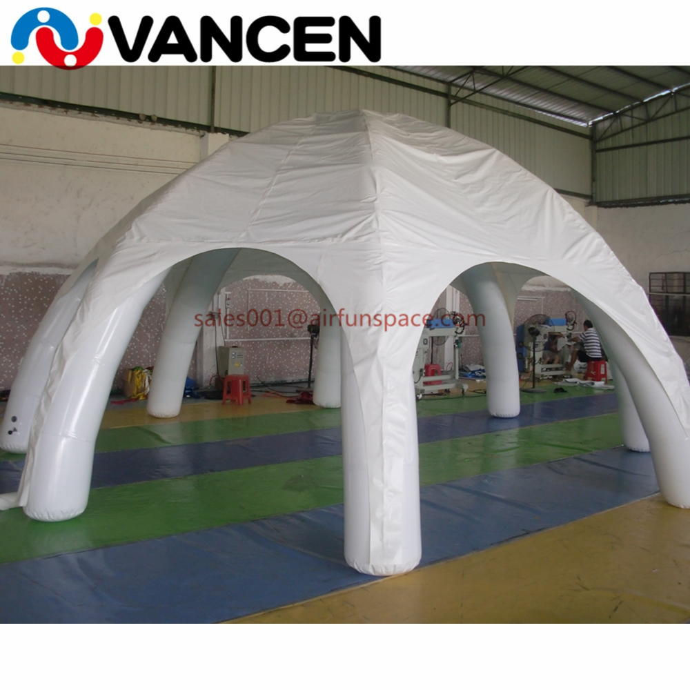 6mL*3mH inflatable advertising tent 6 legs air dome marquee spider tent customized logo inflatable spider tent for pavilions