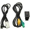 2016 nueva Aux in del interruptor y USB adaptador del Cable de alambre para BMW 3 5 series E87 E90 E91 E92 X5 X6