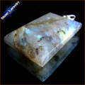 Women & Men Fashion Jewelry Pendants Necklaces With Chain Wholesale Labradorite Moonstone Quartz Stone Colares Femininos DS328