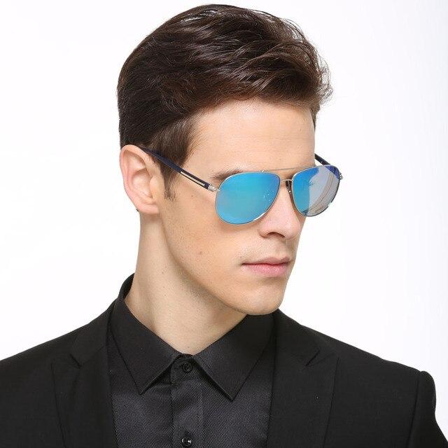 Высокое Качество Вождения Солнцезащитные Очки Мужчины Люксовый Бренд Дизайнер 2017 Поляризованные Зеркало Спортивные Солнцезащитные Очки UV400 Gafas De Sol Хомбре