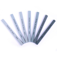 Hot Selling 7pcs Set Good Toughness Oil Stone Green High Hardness Carbide Grinding Stone 150 12
