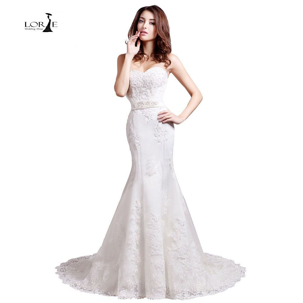 Buy lorie wedding dresses 2017 lvory and for Wedding dress appliques suppliers