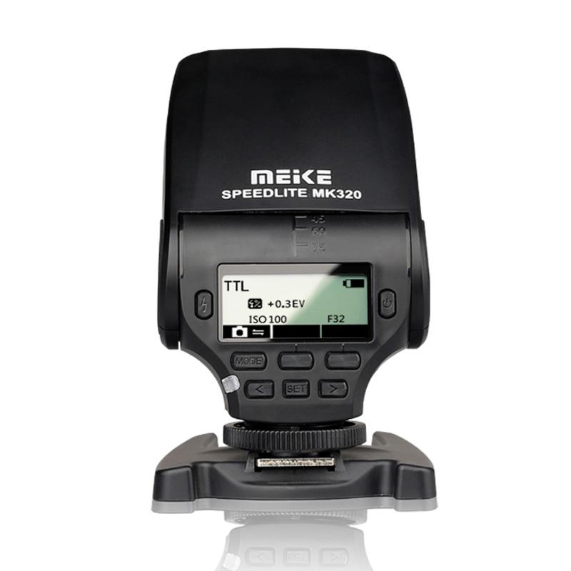 MEIKE MK-320 MK 320 TTL Flash Speedlite for Lumix Olympus Leica OM-D E-M5 II E-M10 E-M1 PEN E-PL7 E-P5 E-PL6 E-PL5 E-PM2 E-P3 olympus pen e pl6 kit 14 42 ii r черный