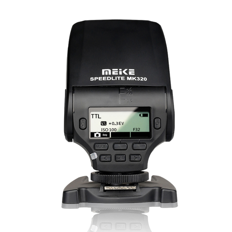 MEIKE MK-320 MK 320 TTL Flash Speedlite for Lumix Olympus Leica OM-D E-M5 II E-M10 E-M1 PEN E-PL7 E-P5 E-PL6 E-PL5 E-PM2 E-P3 цена и фото