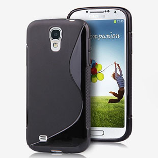 Free shipping Wholesale 10pcs/lot High Quality S Line Soft TPU Gel Silicone Case Cover Skin For Samsung Galaxy s4 S IV i9500