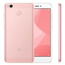 "Global Rom Xiaomi Redmi 4X 3GB RAM 32GB ROM 4100mAh Snapdragon 435 Octa Core Fingerprint ID FDD LTE 4G 5"" MIUI 8 Mobile Phone(China)"