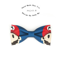 Mario Bowties For Men Cartoon Handmade Luxury Creative Personality Fashion Bow Tie Butterfly Japan Dsigner High