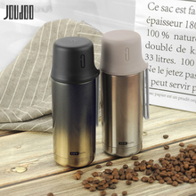 JOUDOO Creative Stainless Steel Vacuum Flasks Gradient Business Car Cup Thermos Student Sport Outdoor Water Bottle 35