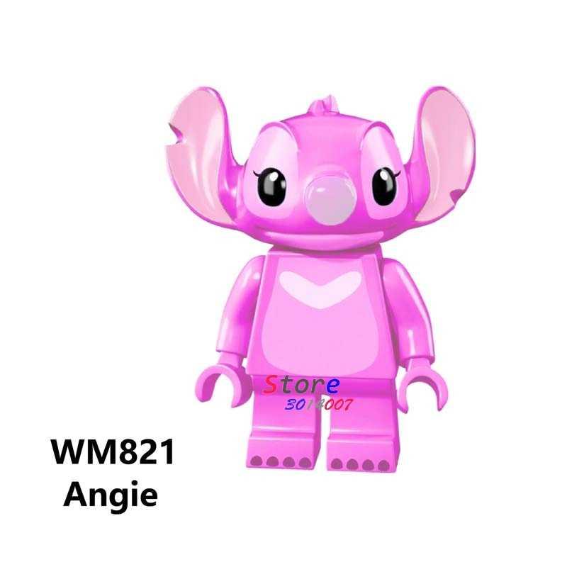 Bloques de construcción únicos de la película de la historieta rosa de los juguetes de acción de burbujas de la flor del Anime de las niñas para los niños