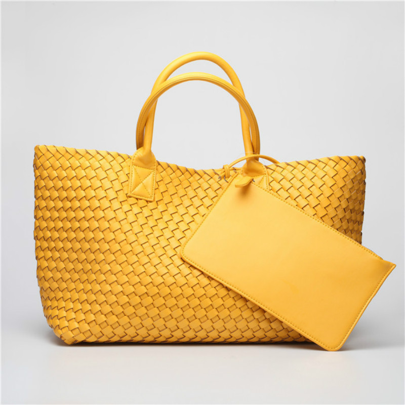 2017 NEW Fashion Famous Brand PU Leather Woven Shoulder Bags For Office Hand Bag Women High Quality Designer Purses And Handbags